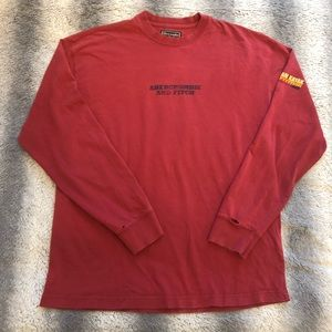 🛶 Abercrombie & Fitch Long Sleeve Tee Mens Large